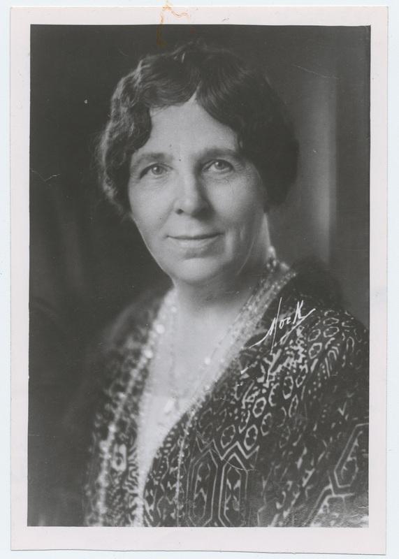 Portrait of Helen Barrett Montgomery