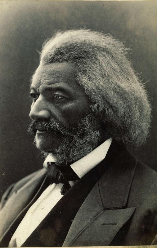Portrait of Frederick Douglass by John H. Kent, 1874.
